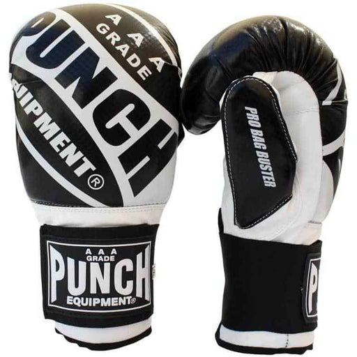 PUNCH Pro Bag Buster Gloves Commercial Grade Bag Boxing Training Mitts - MMA DIRECT