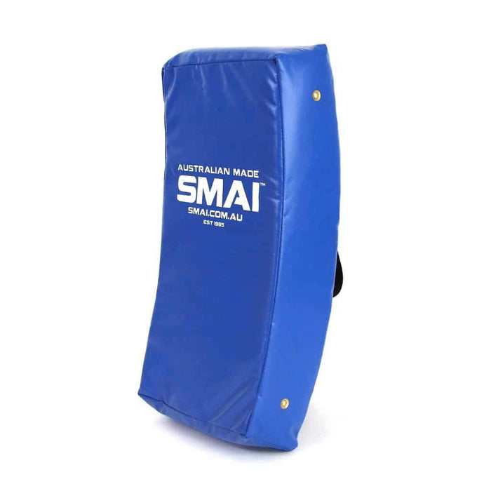 SMAI Curved Shield Aussie Made Black or Blue - MMA DIRECT