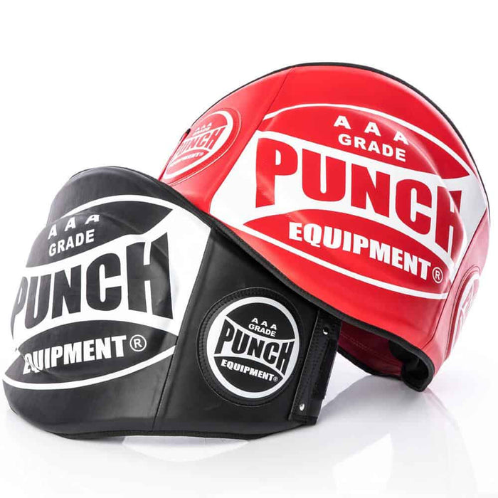PUNCH Trophy Getters Belly Pad AAA Grade Premium Kickboxing Muay Thai Training - MMA DIRECT
