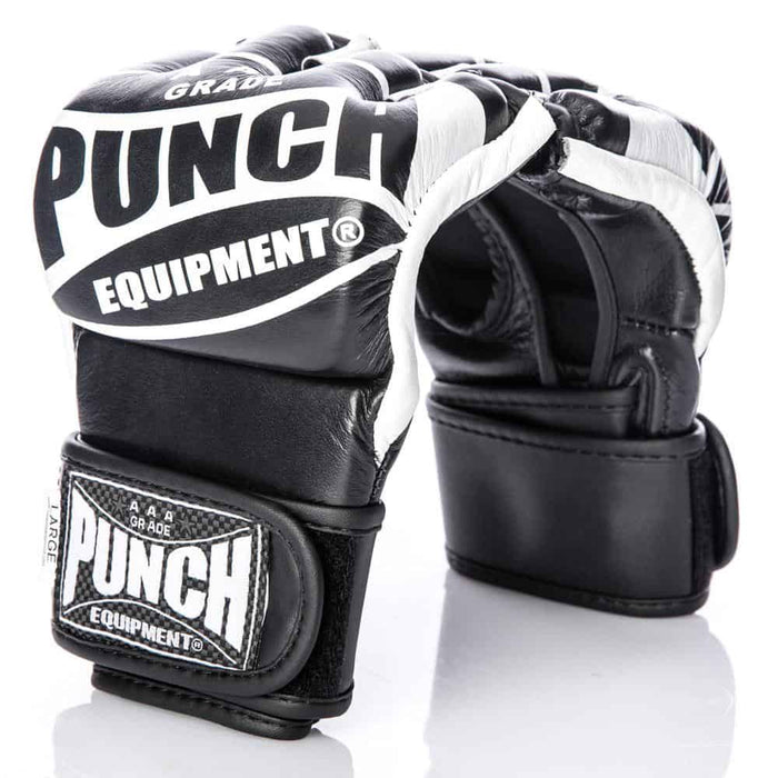 PUNCH MMA Leather Training Gloves & Grappling Mitts - MMA DIRECT