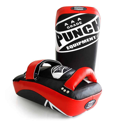 Punch Thai Pads PAIR Curved AAA Rated Boxing MMA Muay Thai Training - MMA DIRECT