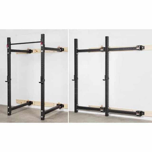 Morgan Fold Back Wall Mounted Cross Functional Rig Gym Grade CF-52-FLDOUT - MMA DIRECT