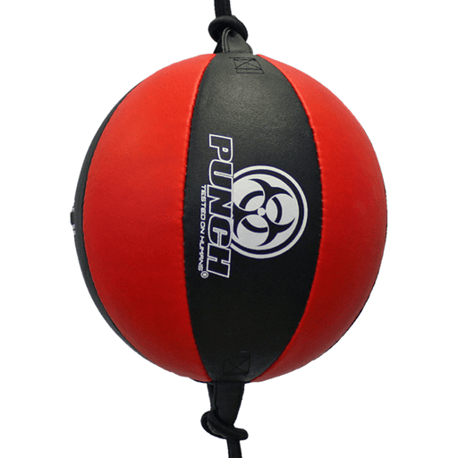 "PUNCH 10"" Urban Leather Floor to Ceiling Ball Gym Setup Boxing Training - MMA DIRECT"