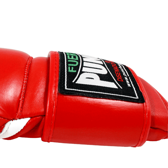 Punch Mexican Fuerte Ultra Boxing Gloves Red / Blue - MMA DIRECT