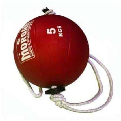 Morgan Tornado Ball 5kg Nylon Rope Workout Commercial Grade Equipment CF-11 - MMA DIRECT