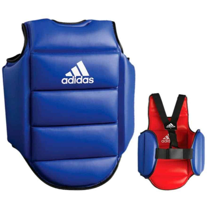 Adidas Reversible Boxing Chest Guard Boxing Thai MMA Protective Equipment ADIP01 - MMA DIRECT