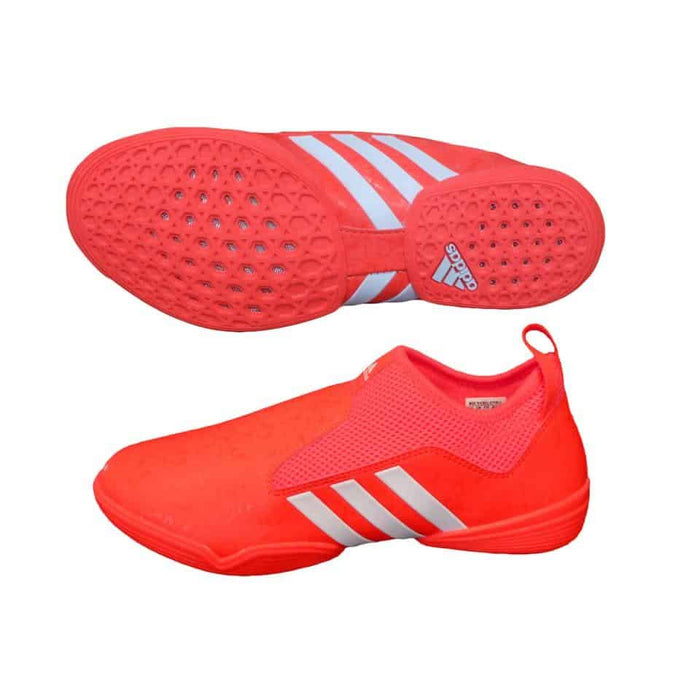 Adidas The Contestant Red Official Rio 2016 Taekwondo Shoe Elasticated Mesh - MMA DIRECT