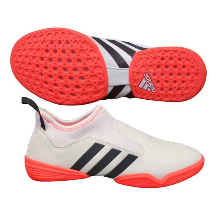 Adidas The Contestant White Official Rio 2016 Taekwondo Shoe Elasticated Mesh - MMA DIRECT