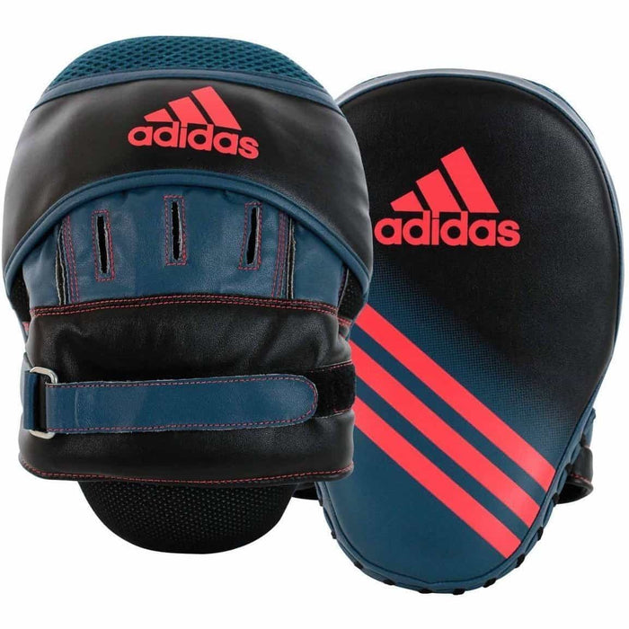 Adidas Womens Speed Focus Mitts Punch Pads Black Red - MMA DIRECT