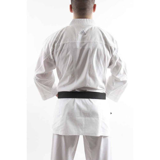 Adidas Karate Gi Uniform Kumite Fighter Senior White 160cm-200cm - MMA DIRECT
