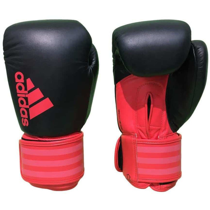 Adidas Womens Speed 200 Leather Boxing Gloves 10oz 12oz - MMA DIRECT