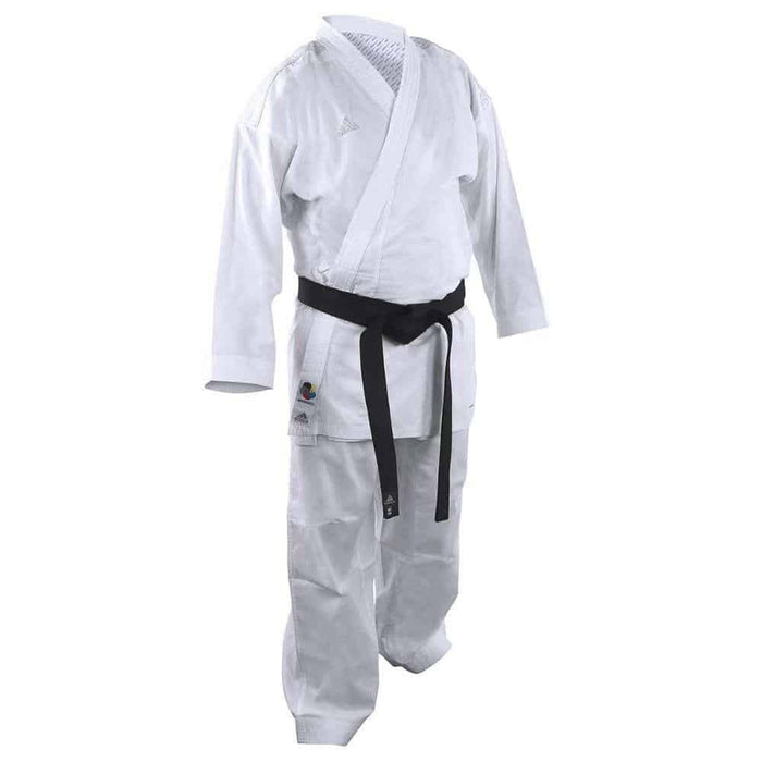 Adidas Karate Gi Uniform Kumite Fighter Junior Lightweight - MMA DIRECT