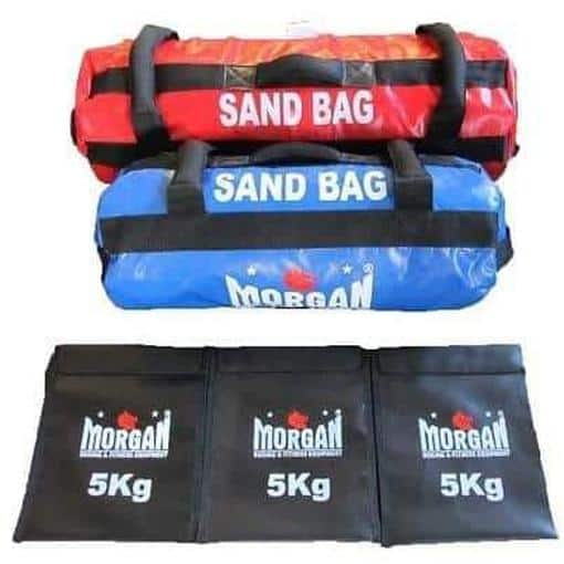 Morgan Sand Bag Set of 2 15KG + 25KG Strength Training Equipment CF-1-SET - MMA DIRECT
