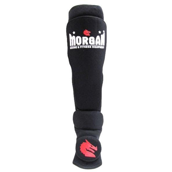 Morgan V2 Neoprene Shin & Instep Foot Guard Muay Thai Kickboxing Taekwondo - MMA DIRECT