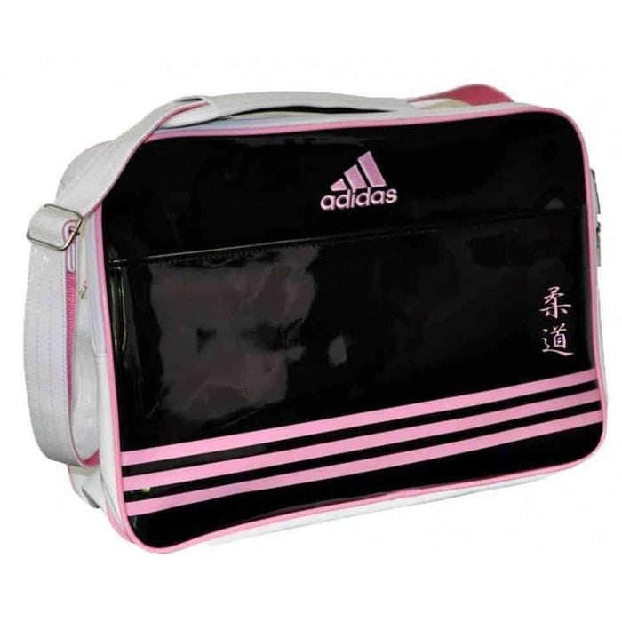 Adidas Shoulder JUDO Gear Bag Black & Pink - MMA DIRECT