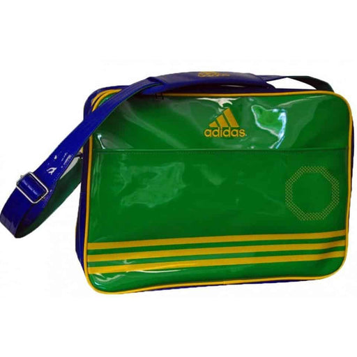 Adidas MMA Shoulder Bag Shiny Blue/Yellow/Green Gym Equipment Gear Bag - MMA DIRECT