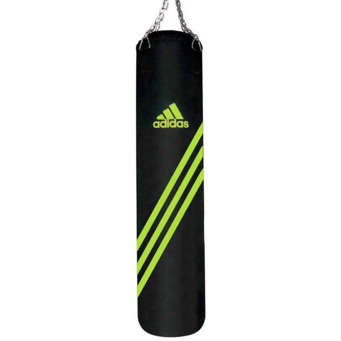 Adidas Speed Training Punching Bag 120x30cm Black/Yellow ADIBACM18-BY-120 - MMA DIRECT