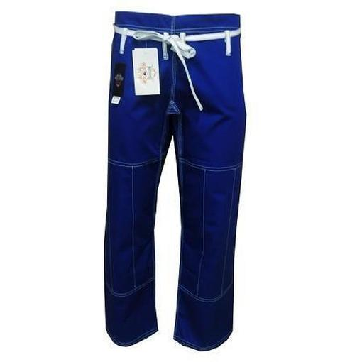 Dragon Fight Wear Competition BJJ Pants (Blue) IBJJF APPROVED - MMA DIRECT