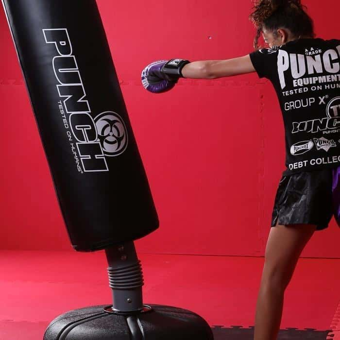 PUNCH Urban Free Standing Rebound Boxing Bag Home Gym - MMA DIRECT