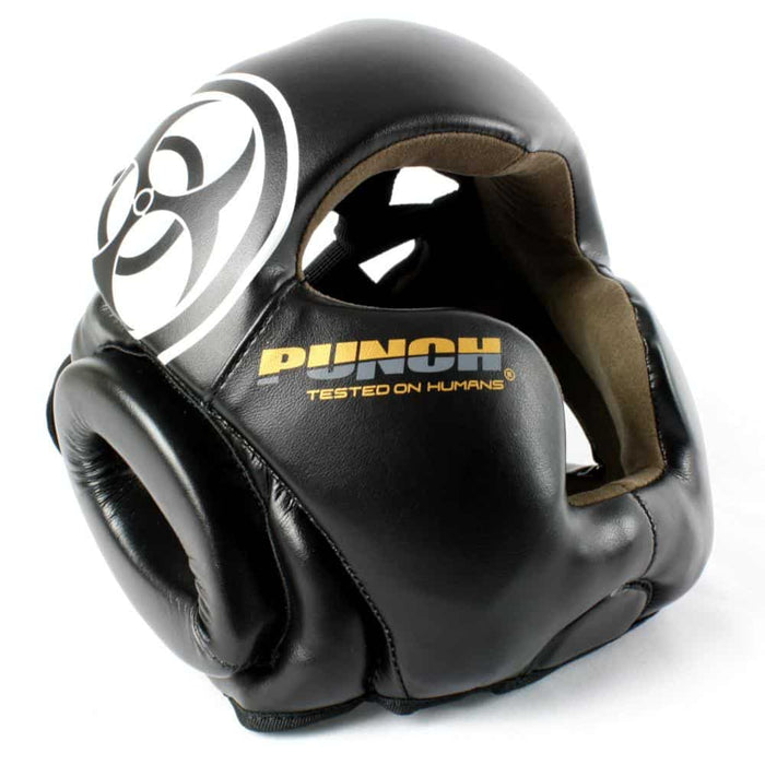 PUNCH Urban Full Face Headgear Sparring Head Protection Guard Cheek & Chin - MMA DIRECT
