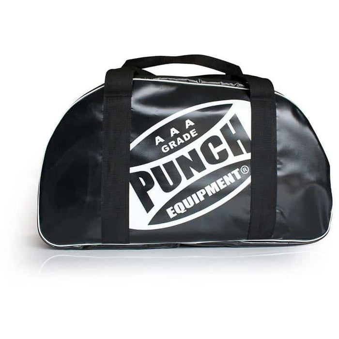 PUNCH AAA Heavy Duty Sports Gym Carry Bag 55cm x 20cm x 30cm Black - MMA DIRECT