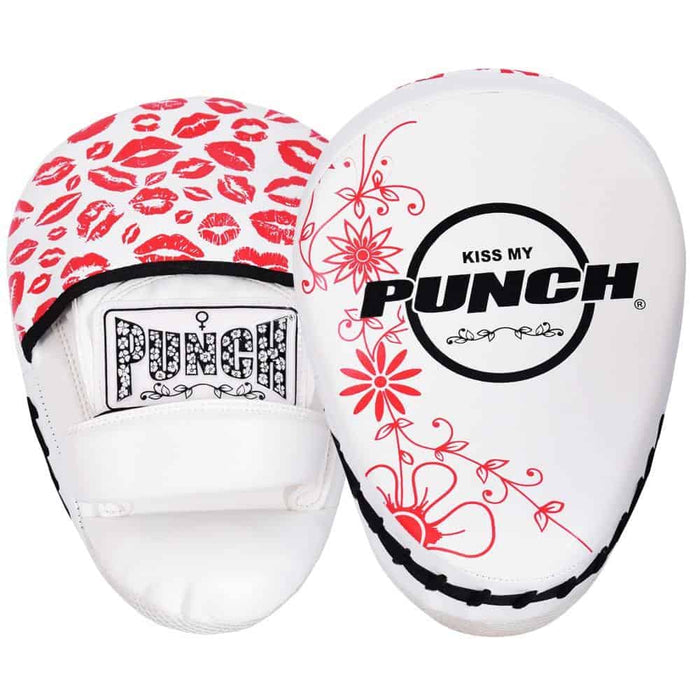 Punch Womens Focus Pads Lip Art Red Limited Edition - MMA DIRECT