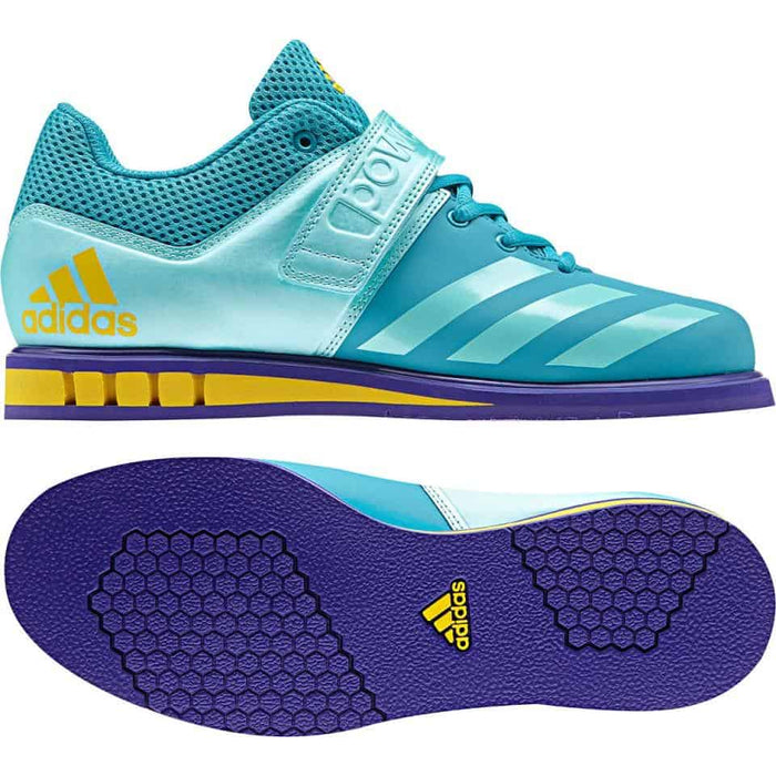 Adidas Womens Powerlift Shoe 3.1W Energy Blue Light Breathable Flexible Stable - MMA DIRECT