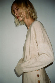 Hessian Simple Crewneck