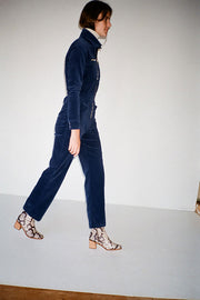 Navy Danny Corduroy Boilersuit