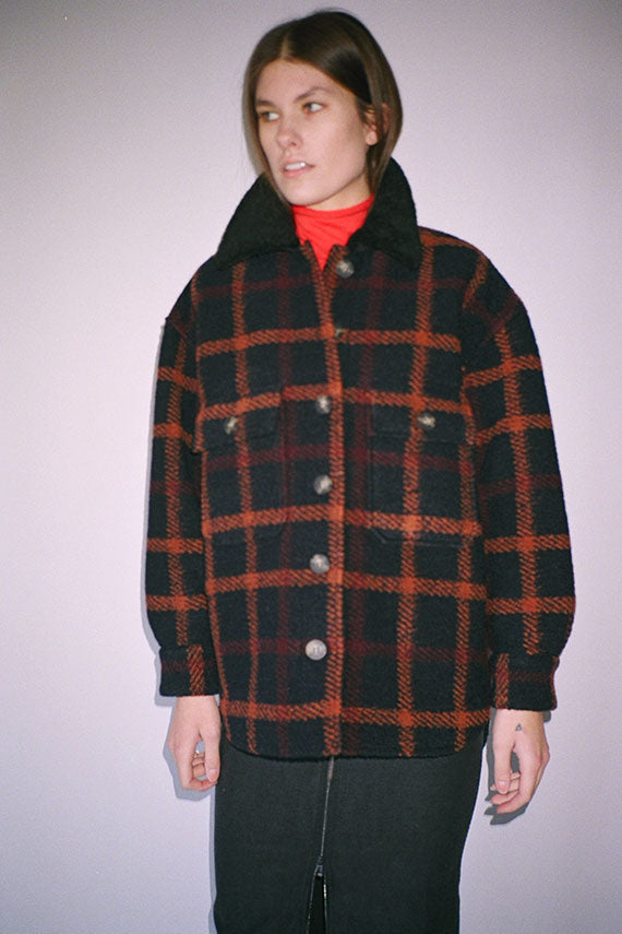 Black Plaid Wilson Jacket