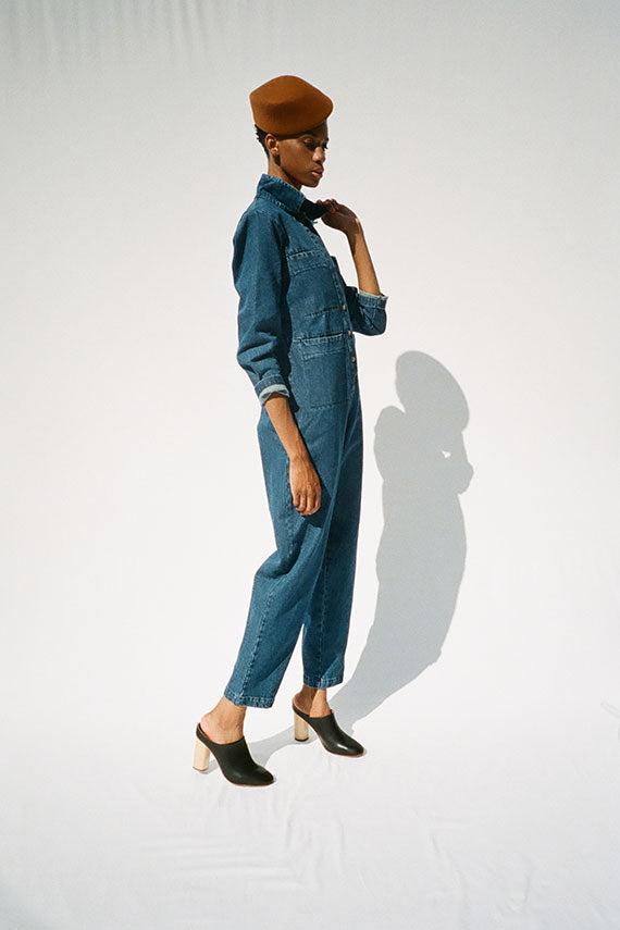 Denim Tia Coverall