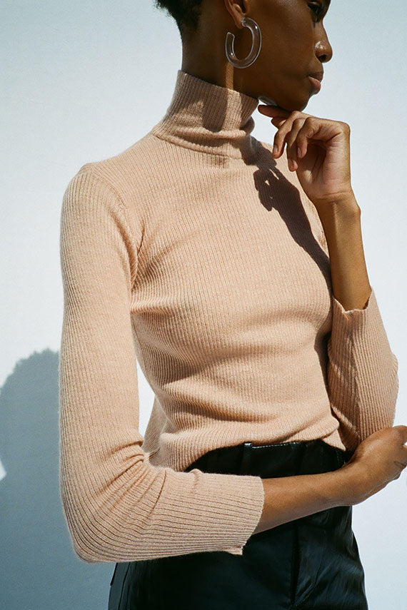 Adobe T-Neck Sweater