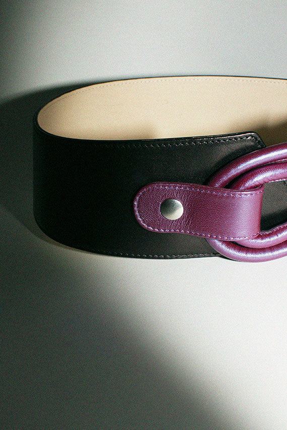 Black Adela Belt