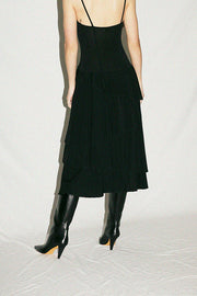 Maryam Nassir Zadeh Obsidian Theron Dress
