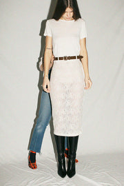 Porcelain Philo Skirt