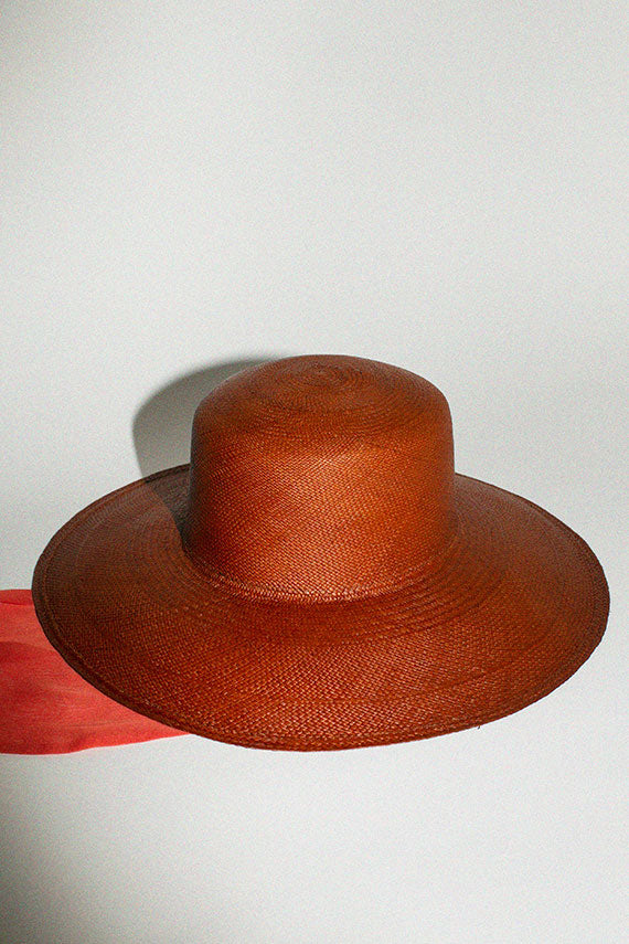 Ancho Pearl Hat with Neck Scarf
