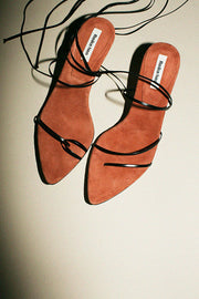 Black & Rose Odd Sandal
