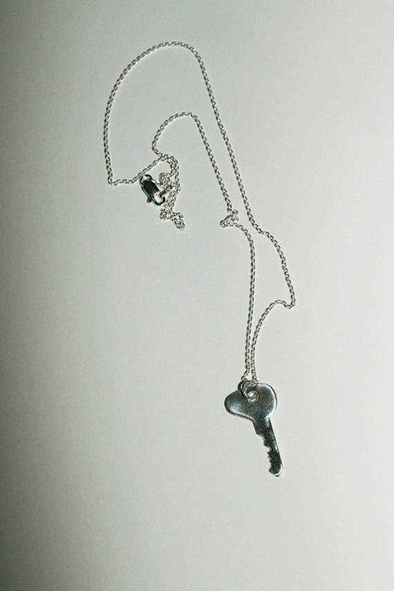 Silver VW Bug Key Necklace