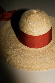 Orange Neptune Straw Hat