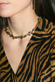 Malachite Kean Bump Necklace