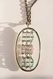 Blue Bell Cage Pendant