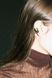Bronze Large Bubble Ear Cuff