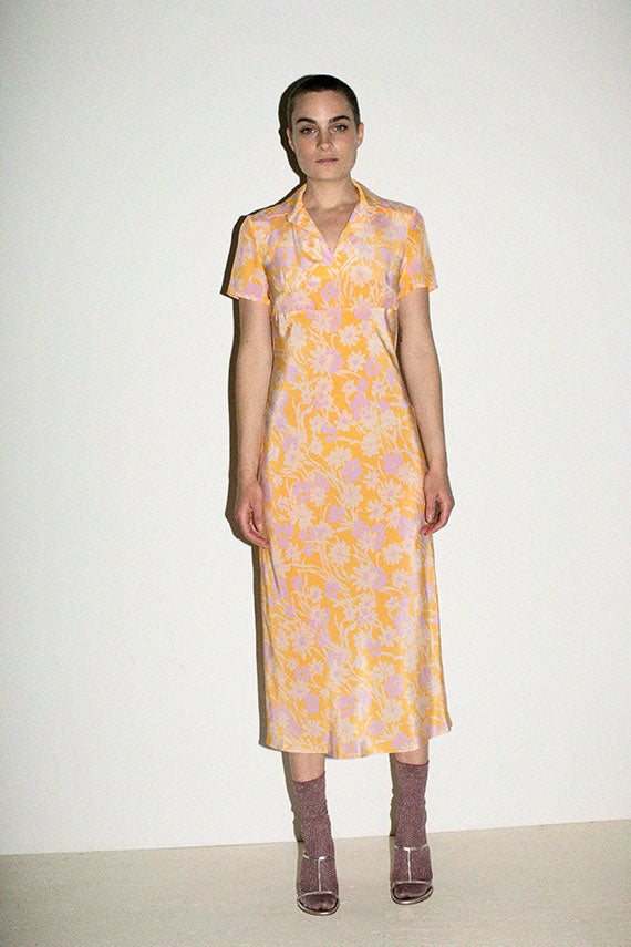 Apricot Meadow Serena Polo Dress
