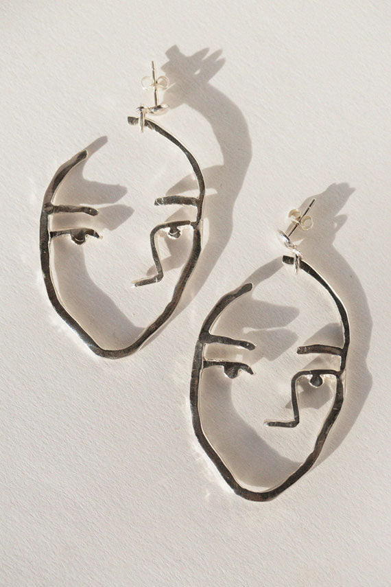 Silver Sister Earrings