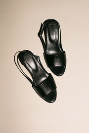 Black Vos Heeled Sandal