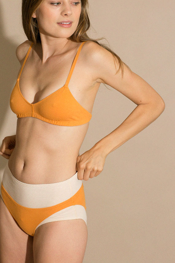 Apricot Low Rise Brief