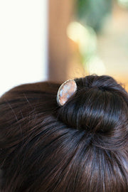 Wisconsin Moonstone Hairpin