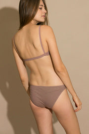 Mauve Low Rise Brief
