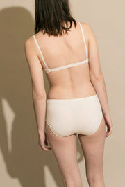 Bone Cashmere High Rise Panty