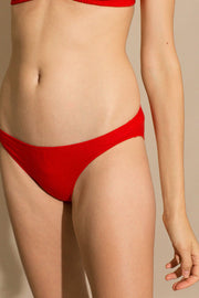 Red Low Rise Brief